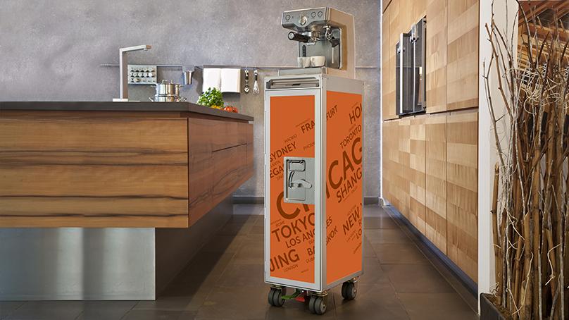 skypak, airport, airport cities, wine bar, trolley